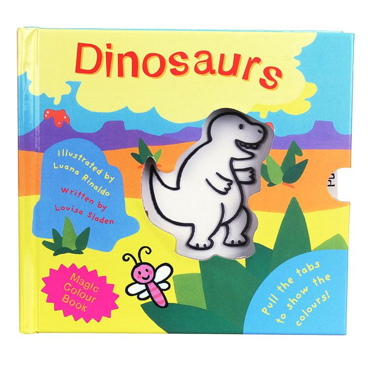 Magic Colour Book My Magic Colour  Dinosaurs Board Book