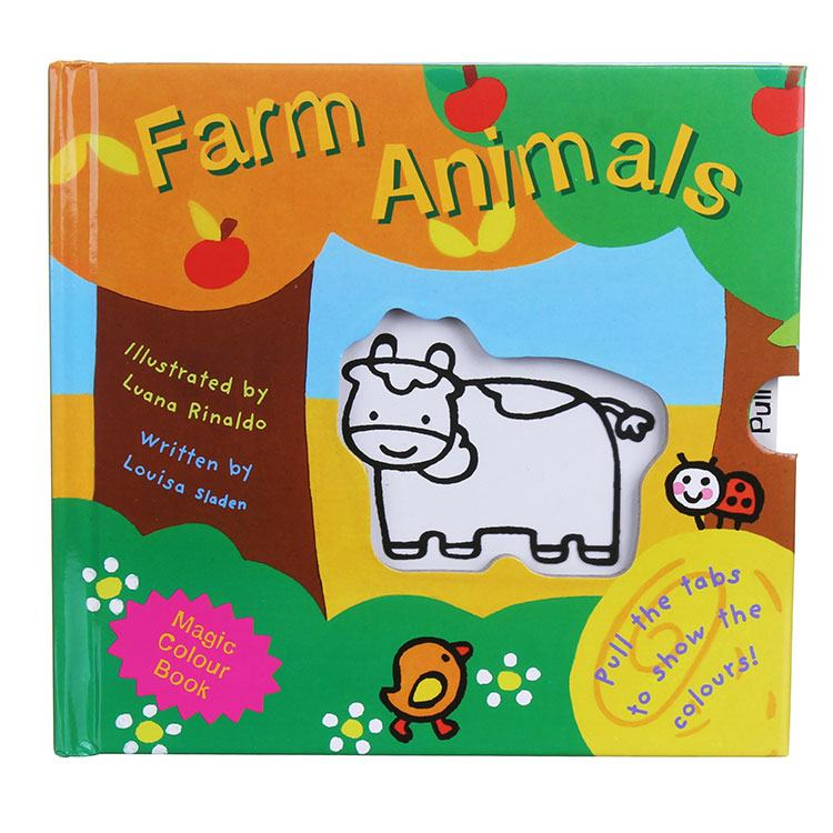Magic Colour Book My Magic Colour  Farm Animals Board Book