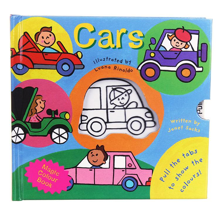 Magic Colour Book My Magic Colour  Cars Board Book