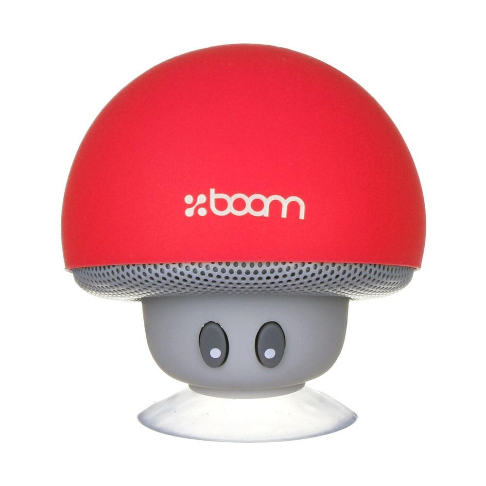 Boom Mini Mushroom Speaker - Red