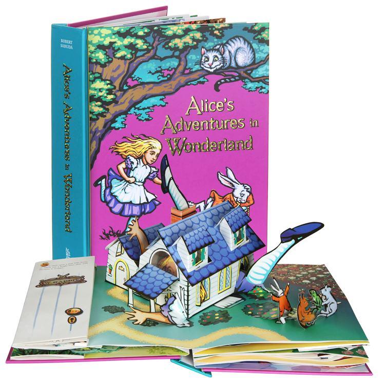 Alice's Adventures in Wonderland Popup Book