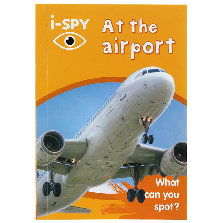 iSpy At The Airport Paperback Book