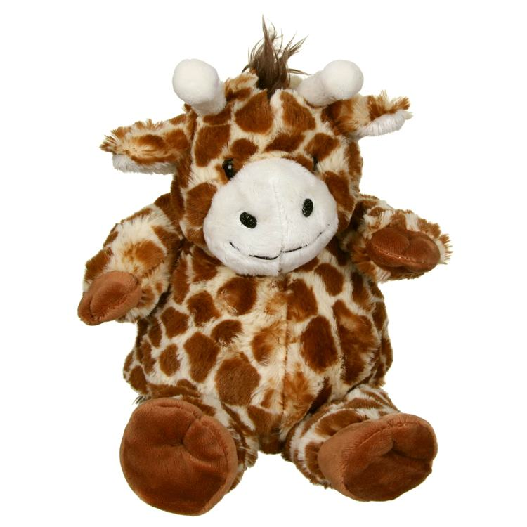 Aroma Home Cozy Hottie Giraffe with Microwaveable Inner Pillow