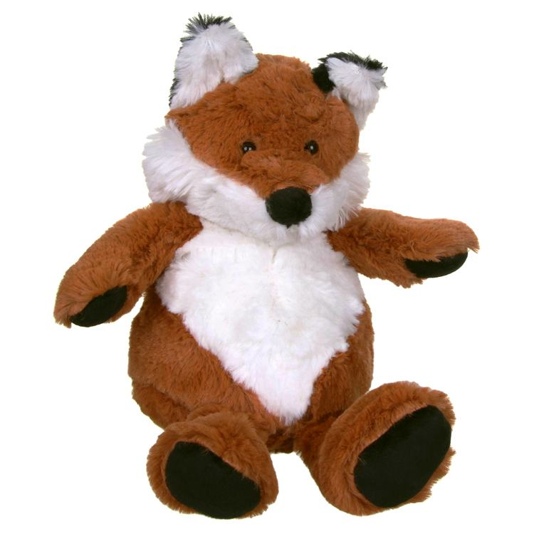 Aroma Home Cozy Hottie Fox with Microwaveable Inner Pillow