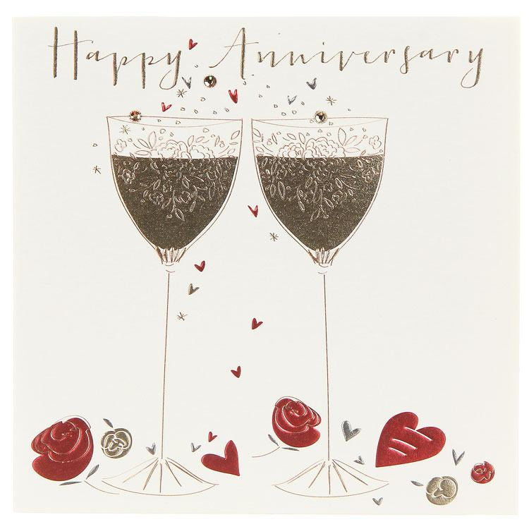 Anniversary Cards Online Personalised Anniversary Cards Uk