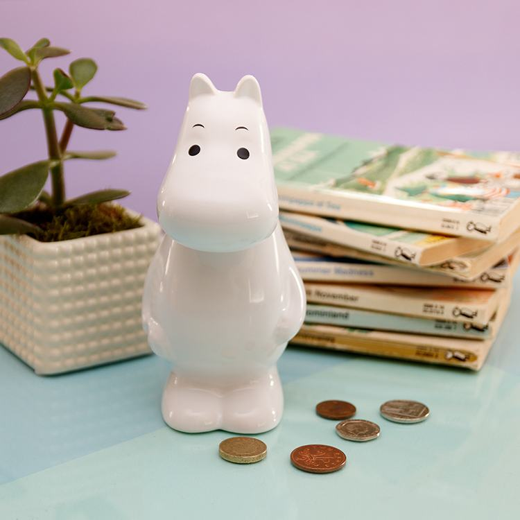 Moomin Boxed Ceramic Money Box