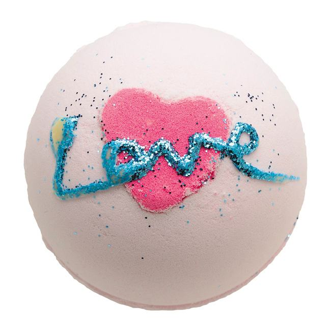 Bomb Cosmetics All You Need Is Love 160g Bath Bomb