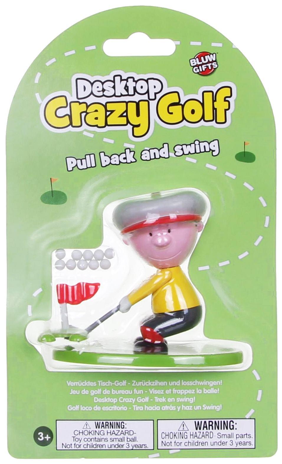 Desktop Golfer Game