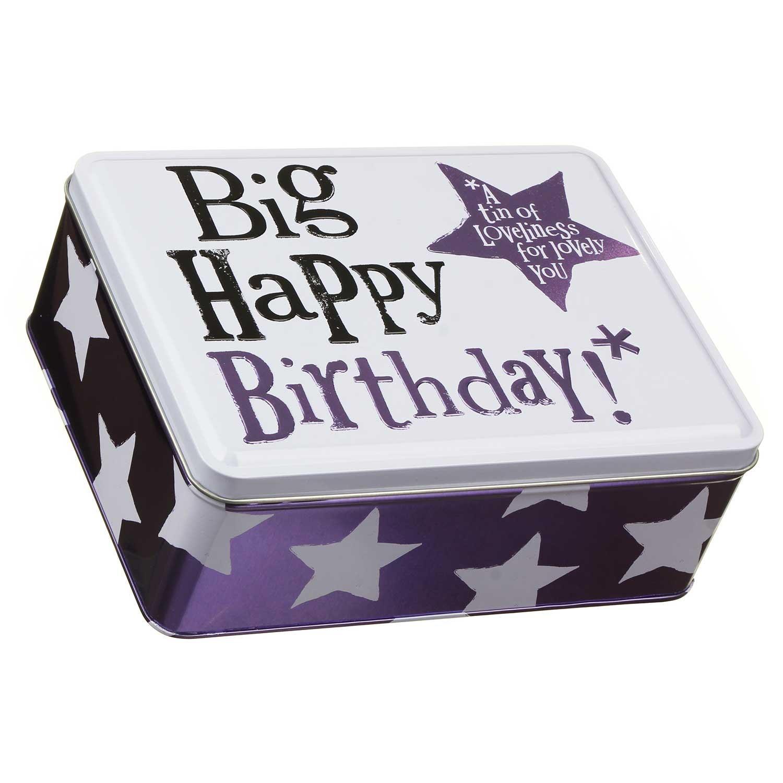 The Bright Side Big Happy Birthday Tin