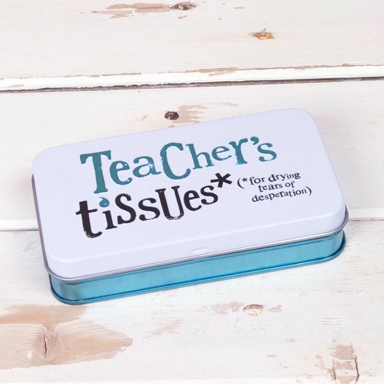 The Bright Side Teacher's Tissues Tin