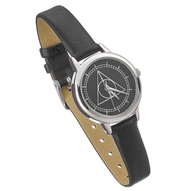 Harry Potter Black Large Deathly Hallows Watch