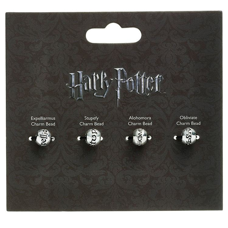 Harry Potter Charm Bead Set of 4 - Spell Beads