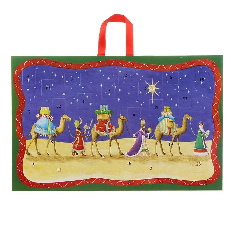 Three Kings Advent Calendar