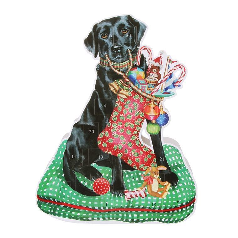 3D Standing Christmas Labrador Advent Calendar