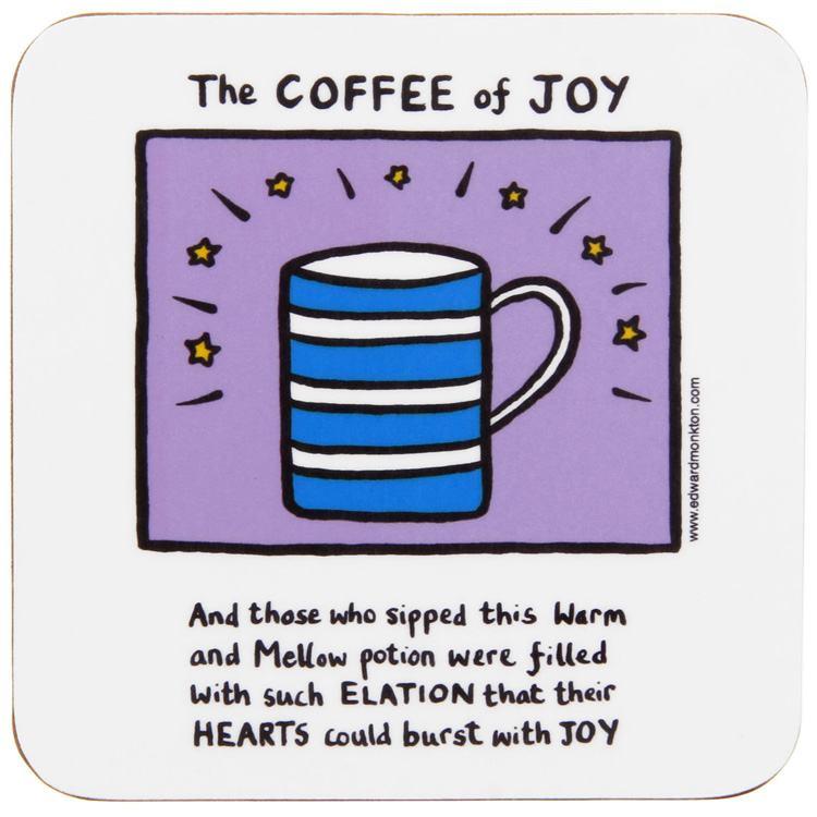 Edward Monkton The Coffee Of Joy Coaster