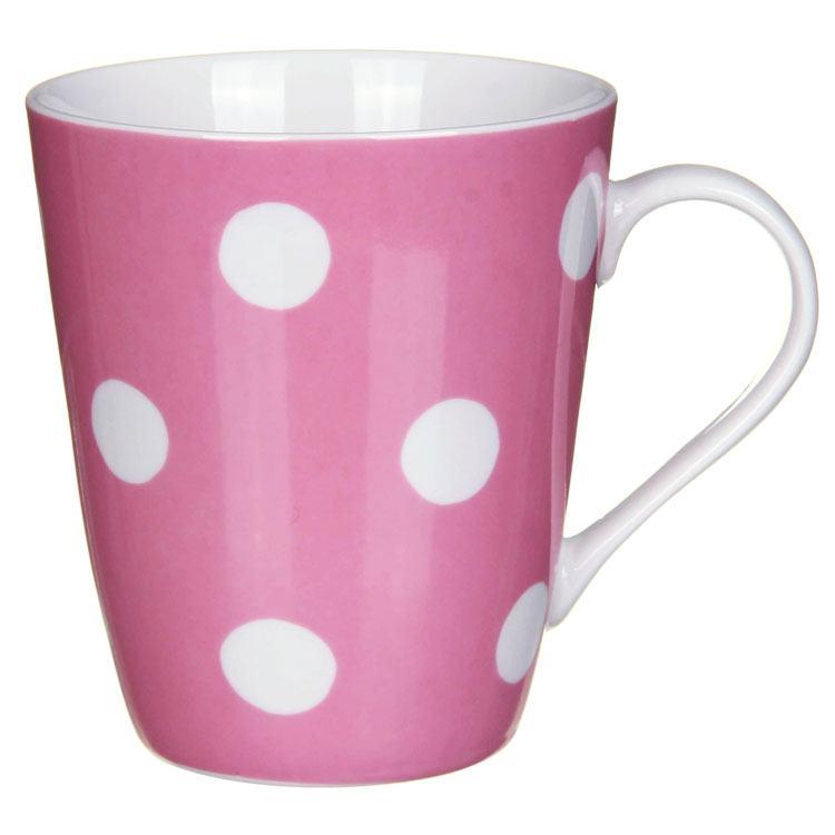 Cath Kidston Kidston Button Spot Soft Pink Stanley Mug