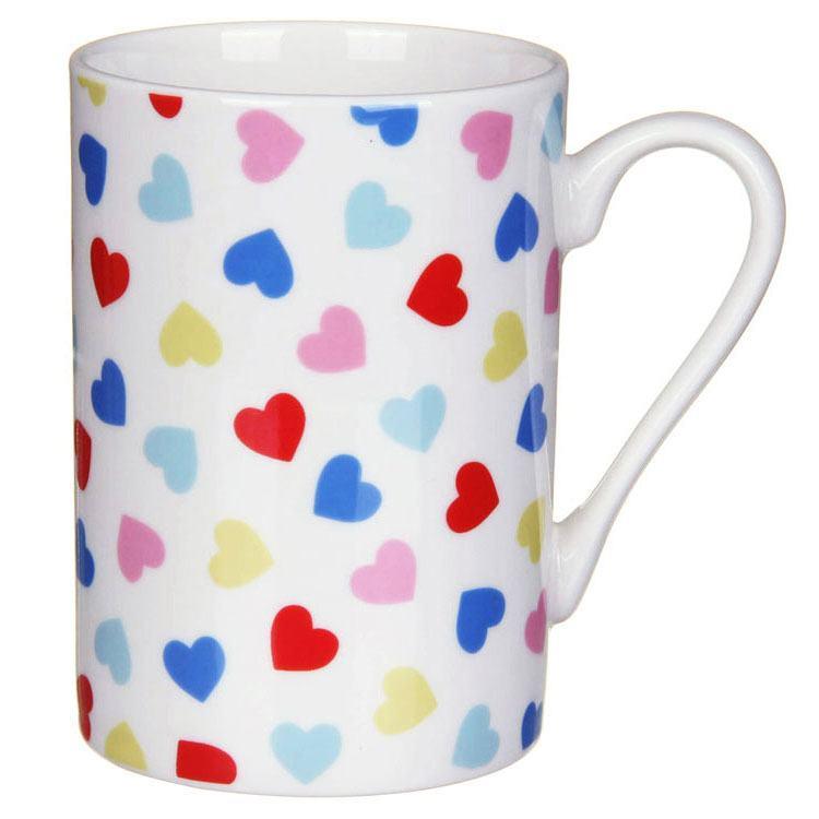 Cath Kidston Confetti Hearts Multi Grace Mug