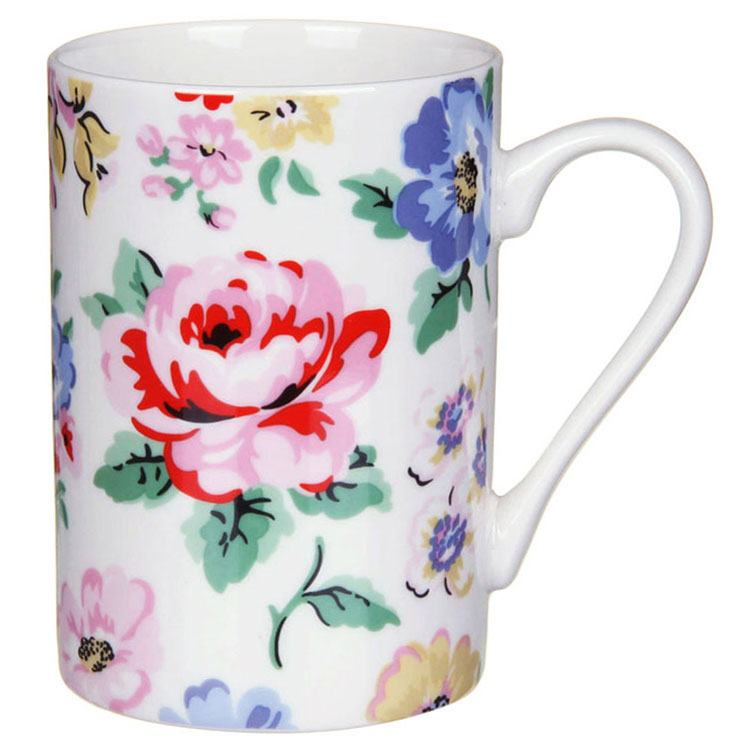 Cath Kidston Cavendish Rose Off White Grace Mug