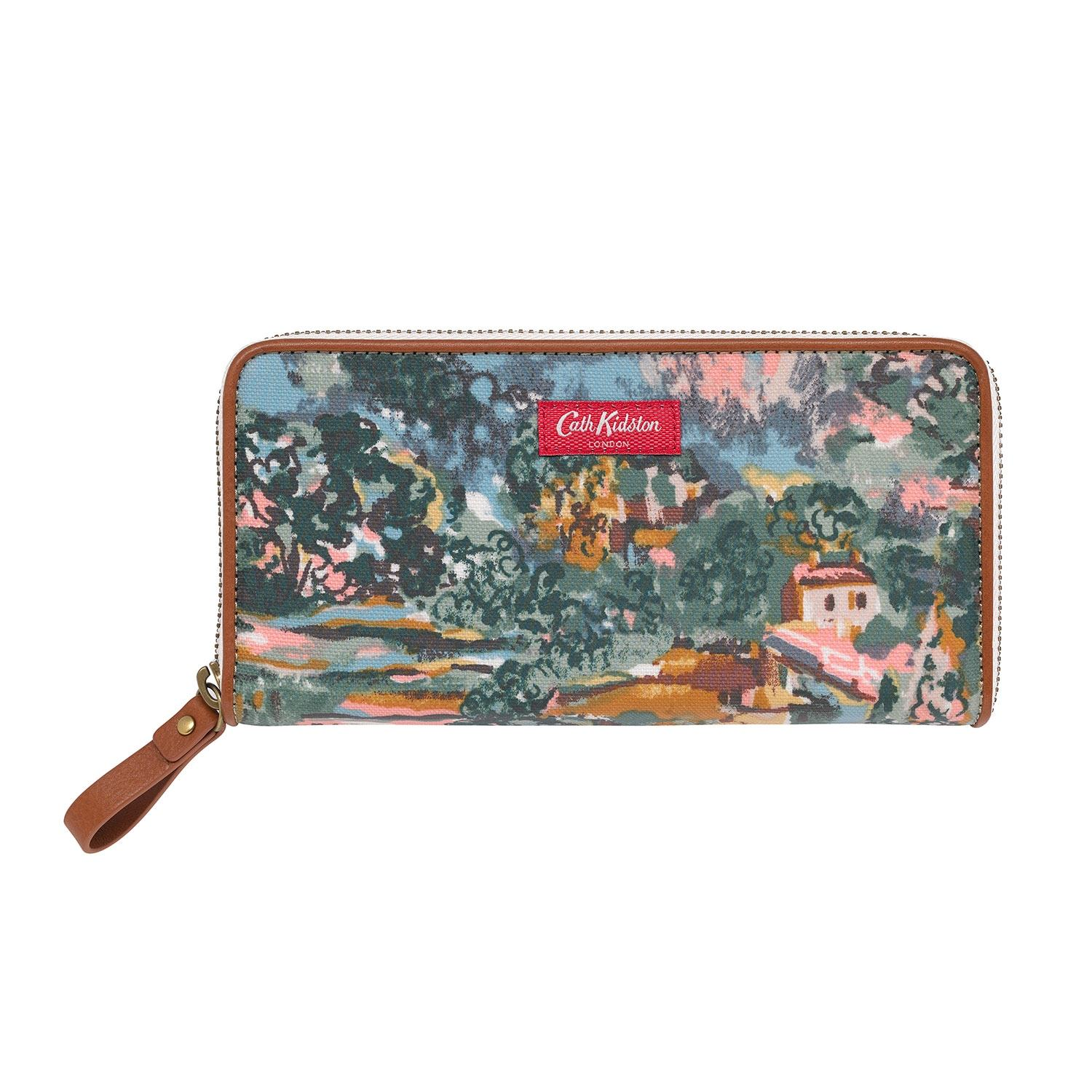 Cath Kidston Artists View Continental Zip Wallet