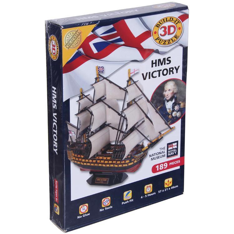 Hms Victory 3d Puzzle