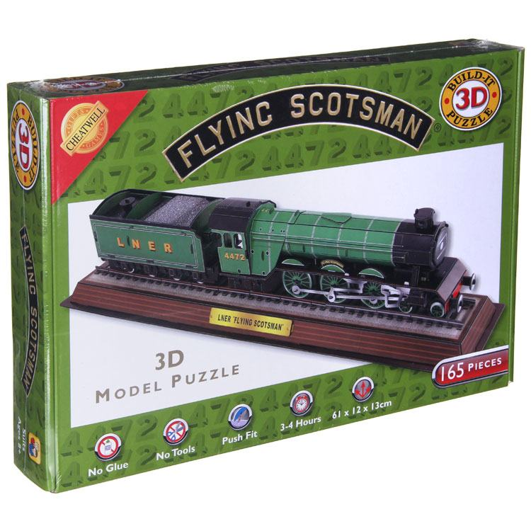 The Flying Scotsman 3d Puzzle