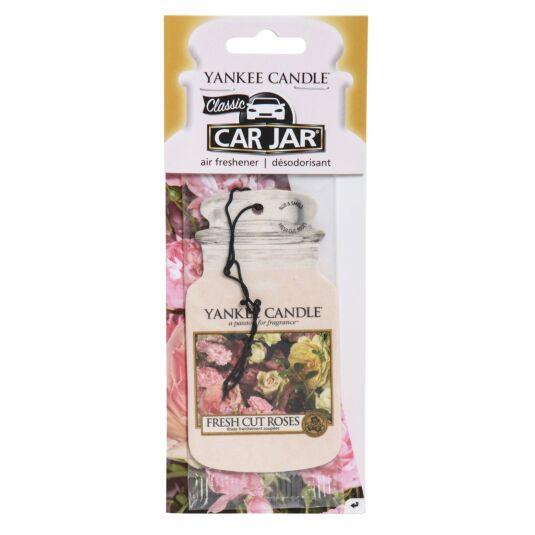 Fresh Cut Roses Car Jar Air Freshener