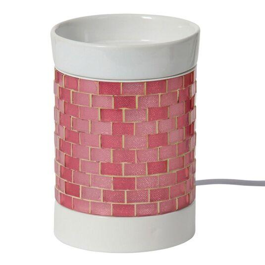 Pink Glitter Glow Electric Melt Warmer