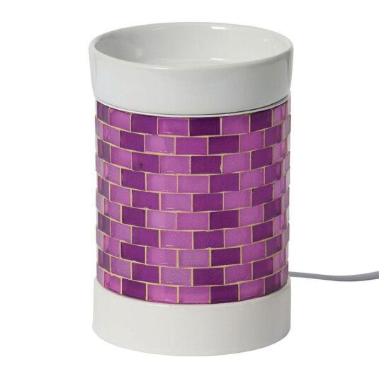Purple Glitter Glow Electric Melt Warmer