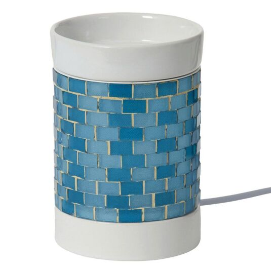 Blue Glitter Glow Electric Melt Warmer
