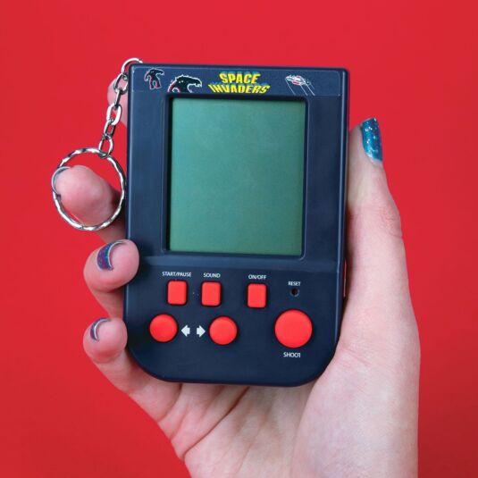 Space Invaders Game Keyring