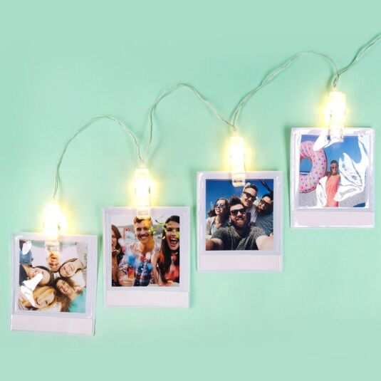 Moments Photo Wallets String Lights