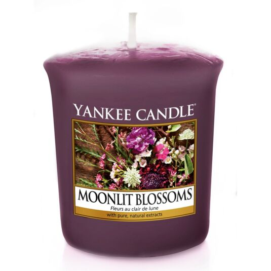 Moonlit Blossoms Votive Candle