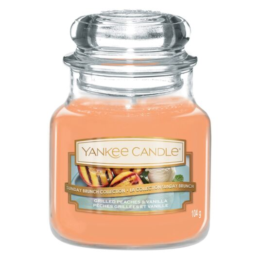 Grilled Peaches & Vanilla Small Jar Candle
