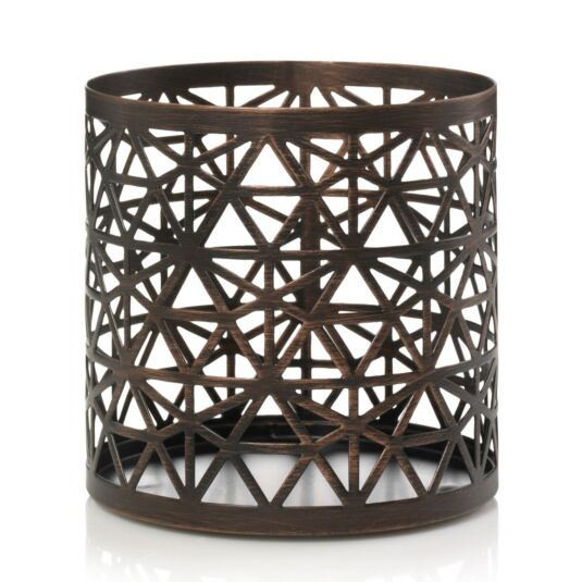 Belmont Bronze Jar Candle Holder