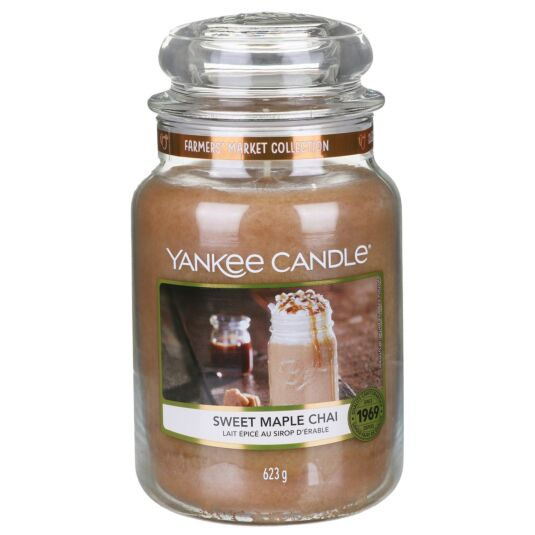 Sweet Maple Chai Large Jar Candle