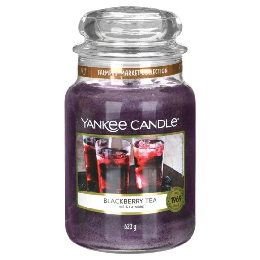 Blackberry Tea Limited Edition Large Jar Candle