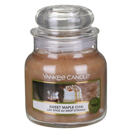 Sweet Maple Chai Small Jar Candle