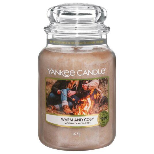 Warm & Cosy Large Jar Candle