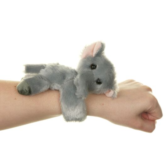 Small Elephant Huggler Snap Band