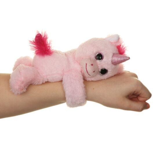 Medium Pink Unicorn Huggler Snap Band