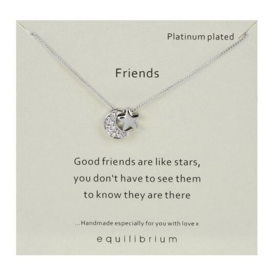 Sentimental 'Friends' Necklace