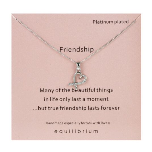 Sentimental 'Friendship' Necklace