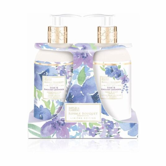 Royale Bouquet Lilac and English Lavender Two Bottle Gift Set