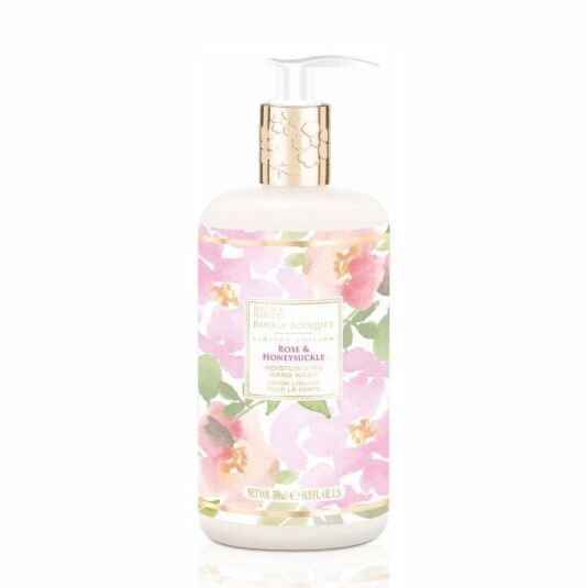 Royale Bouquet Rose and Honeysuckle Hand Soap