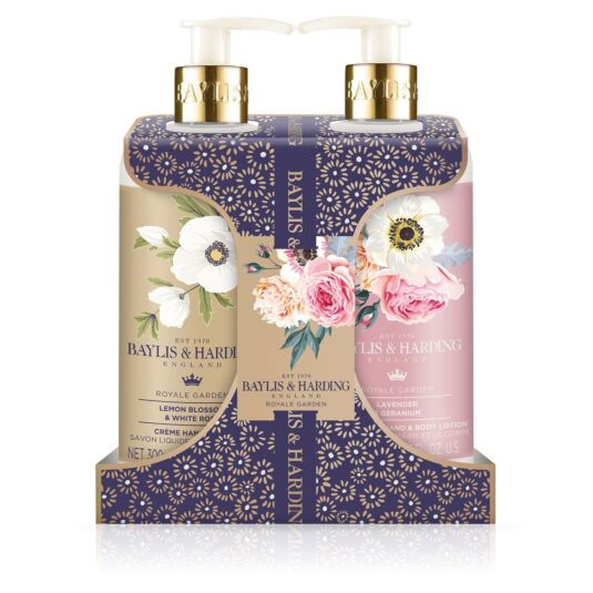 Royale Garden Hand Wash & Lotion Set
