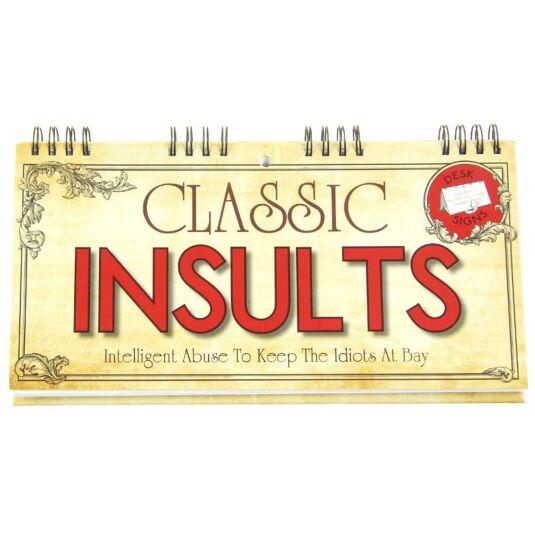 Classic Insults Flip Book