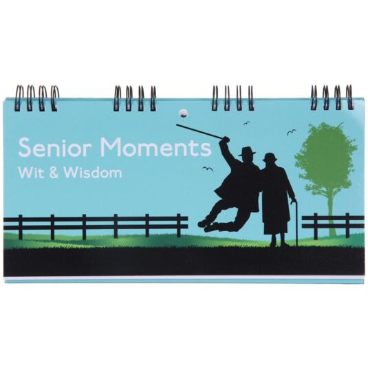 Senior Moments Wit & Wisdom Flip Book