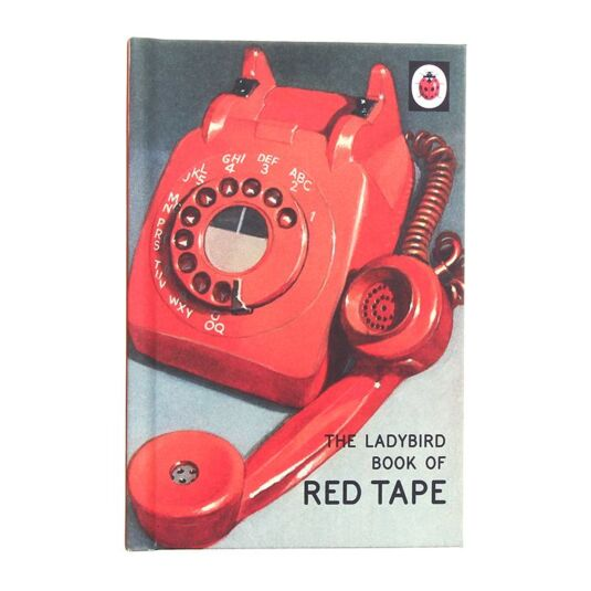 The Ladybird Book of Red Tape Hardback Book