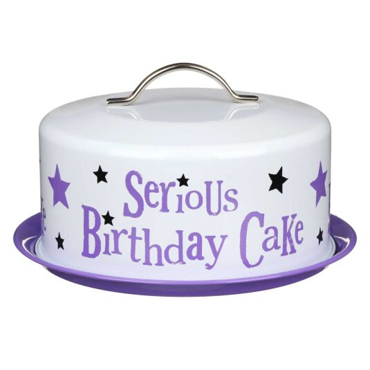 Serious Birthday Cake Tin