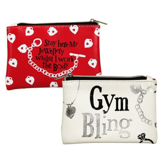 Gym Bling Jewellery Bag